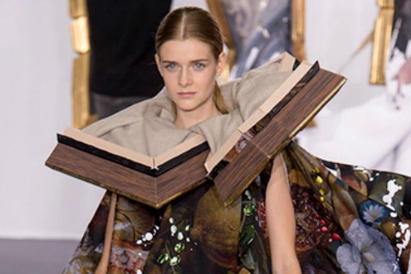 Дизайнеры Недели высокой моды надели на моделей картины