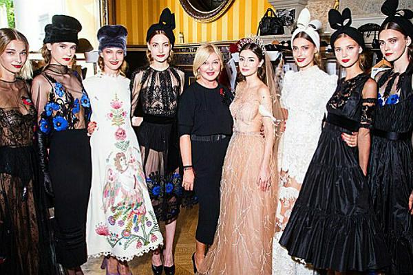 Дизайнер Юлия Янина показала коллекцию одежды с русской душой на Неделе высокой моды