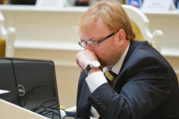 Слухи об исключении из ЕР вызвали у Милонова