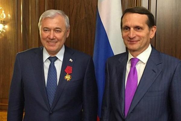 Депутату Аксакову вручили орден