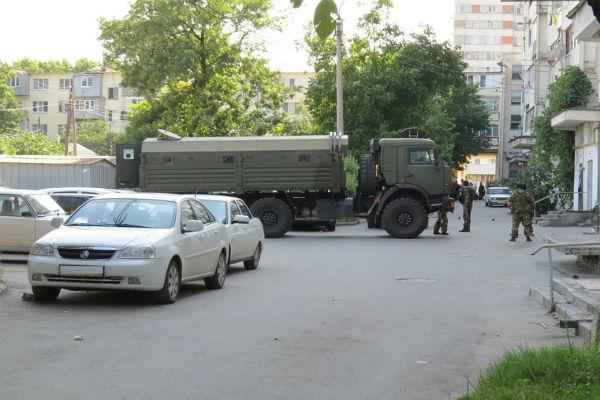 Опубликовано видео ликвидации боевиков в Нальчике