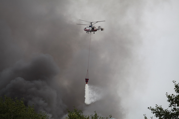 Пожар на заводе ЗИЛ ликвидирован