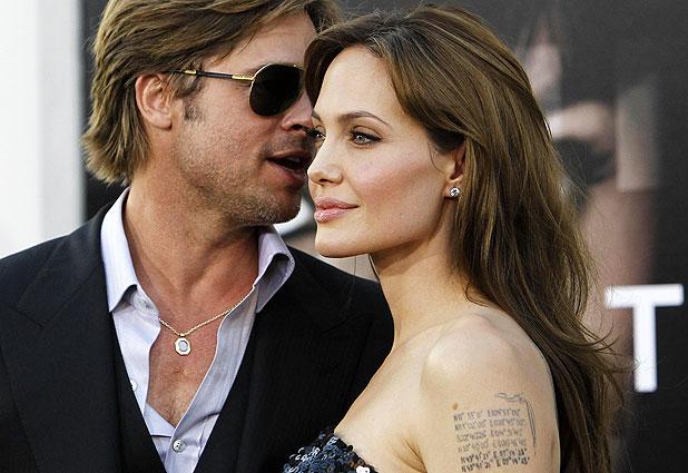 Брэд Питт обзавелся новой татуировкой в честь Джоли