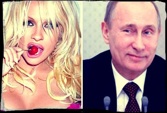 Памела Андерсон кое-что предложила Владимиру Путину