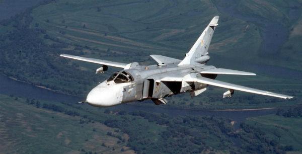 Су-24М мог упасть из-за отказа техники
