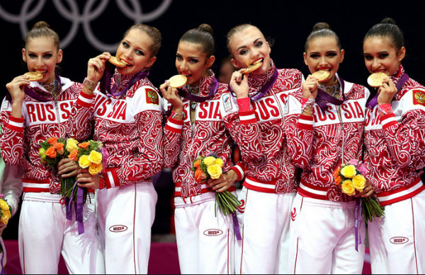 Сборная России по художественной гимнастике взяла золото на Универсиаде в Южной Корее