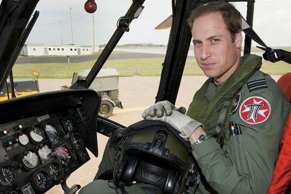 СМИ: За вертолетом принца Уильяма могут следить террористы