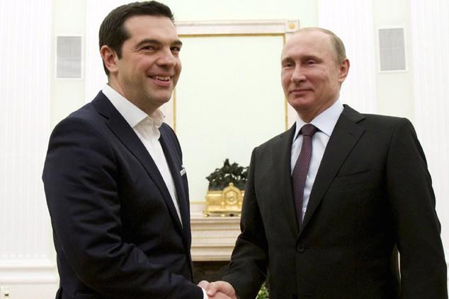 Ципрас решил посоветоваться с Путиным по телефону