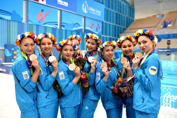 Украинские атлеты лишились премий за Европейские игры из-за банка-банкрота
