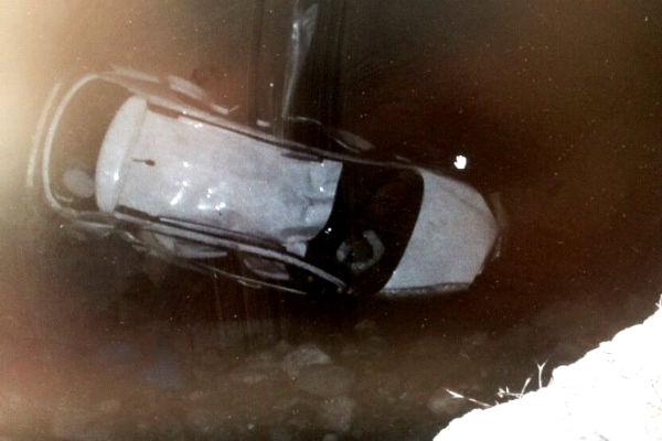 Водитель упавшего в обрыв в Абхазии внедорожника был пьян