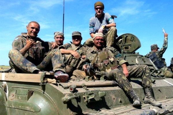 Скандальный батальон «Айдар» заставили покинуть передовую