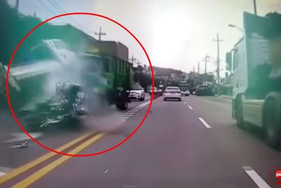 Виновник массовой аварии, сбивший полицейского, повесился рядом с местом трагедии