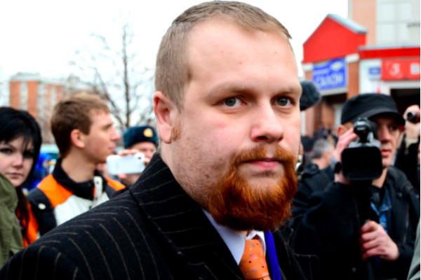 Лидер националистов Демушкин и его спутница задержаны в Москве