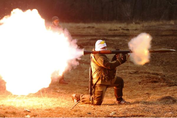 Массированный артобстрел уничтожил позиции украинской армии под Волновахой