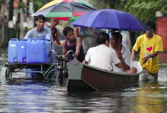 Наводнение на Филиппинах: есть жертвы