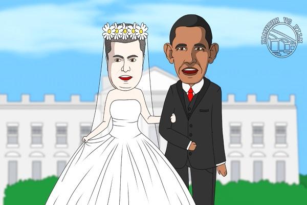 Мультипликатор Snowman женил Порошенко и Обаму