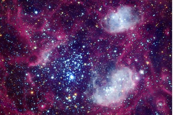 Открытые звездные скопления в виде галактик поразили ученых