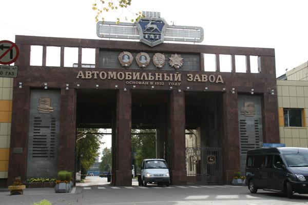 Горит завод ГАЗ в Нижнем Новгороде