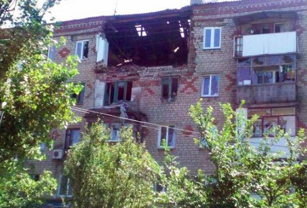 ВСУ из танков обстреляли Горловку