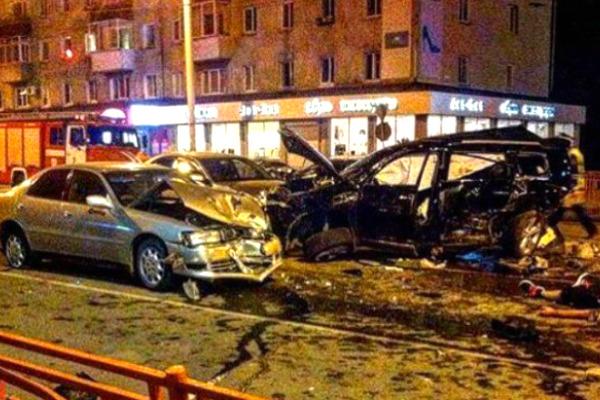 Девушка за рулем совершила в Иркутске массовое ДТП с гибелью двоих мужчин