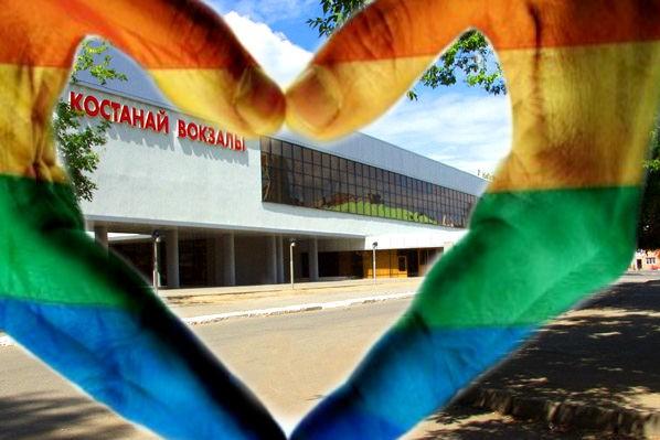 Русский и немец занялись сексом на вокзале в Казахстане