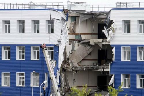 Филиал Спецстроя проверяют по факту обрушения казармы в Омске