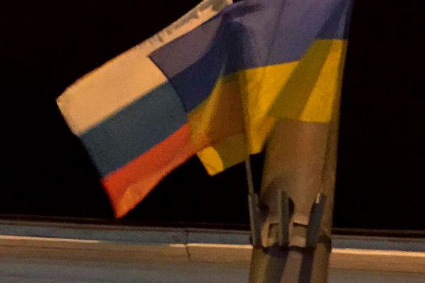 Киев украсили флагами России накануне визита президента Болгарии