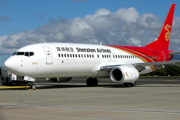 Китаец пытался устроить акт самосожжения на борту самолета