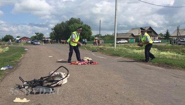 Пьяный водитель сбил насмерть девушку с 3-месячной малышкой