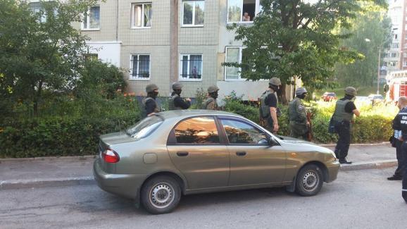 Во Львове кавказцы захватили заложников