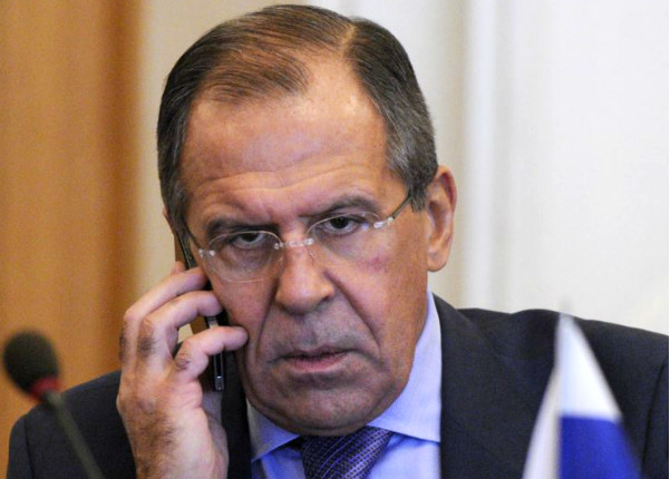 Из-за обстрелов Донбасса Лавров позвонил Климкину, Штайнмайеру и Керри