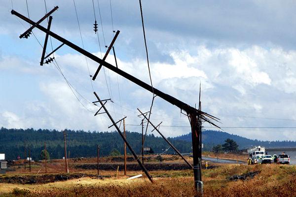 Тайфун лишил жителей Хабаровска электричества