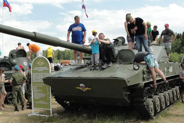 Военную технику Минобороны стянули на рок-фестиваль «Нашествие»