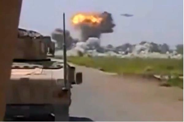 Опубликовано видео НЛО, который расстрелял Афганистан