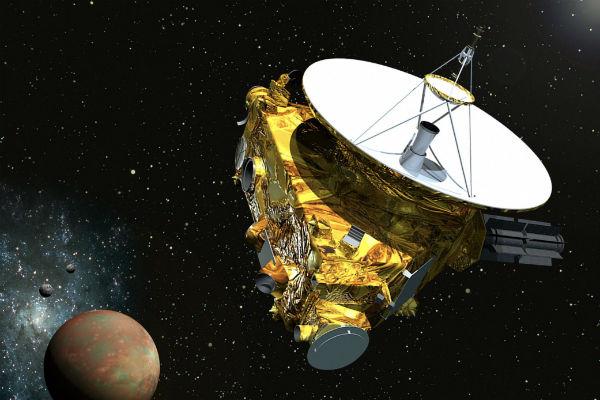 Фотографии с зонда New Horizons сотрудники NASA