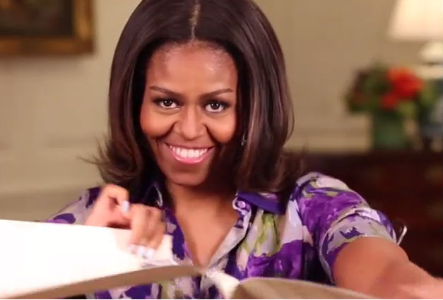 Мишель Обама разорвала запрет на селфи в Белом доме
