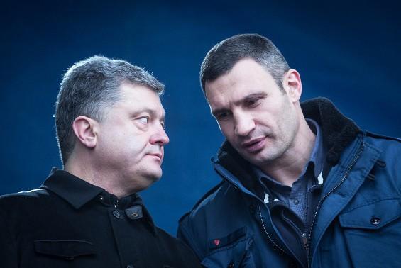 Австрийские СМИ отдали Порошенко и Кличко под суд