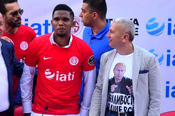 Надевший футболку с портретом Путина украинский консул уволен