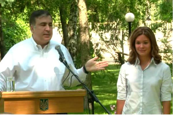 Мария Гайдар назвала своего шефа «отвратный Саакашвили»