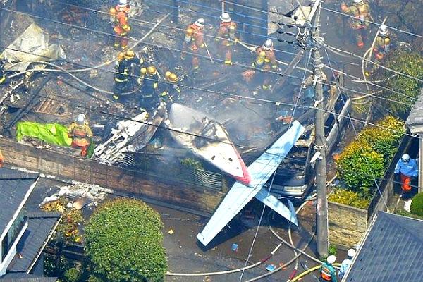 Эксперты назвали две причины, повлиявшие на крушение самолета в Японии