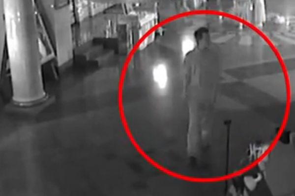 Появилось видео с самоубийцей в Храме-на-Крови