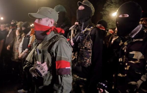 Началась эвакуация жителей из блокированного «Правым сектором» села под Мукачево