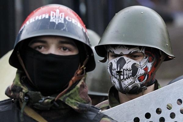 Двое из 14 боевиков «Правого сектора» сдались под Мукачево