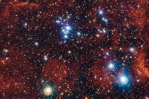 Ученые обнаружили необычайно красивую звездную группу в Млечном Пути
