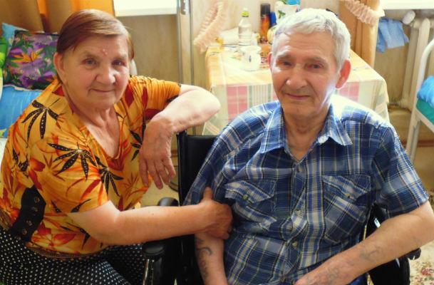 Старушка вышла замуж за первую любовь после 50 лет разлуки