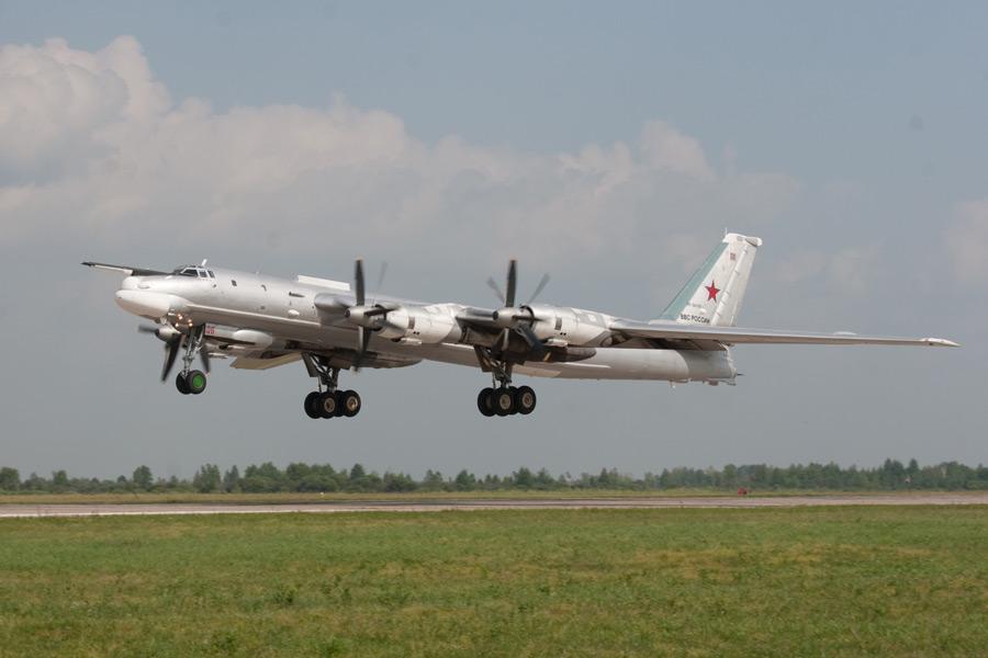 Полеты Ту-95 МС приостановлены до выяснения причин авиакатастрофы под Хабаровском