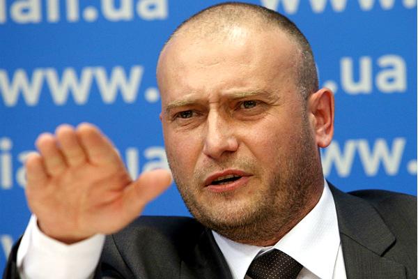 Ярош потребовал отставки Порошенко, Рады и Кабмина