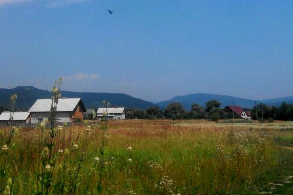 Украинские силовики начали АТО в Закарпатье с применением авиации