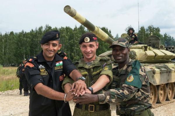 Шойгу дал старт Международным армейским играм в Алабино