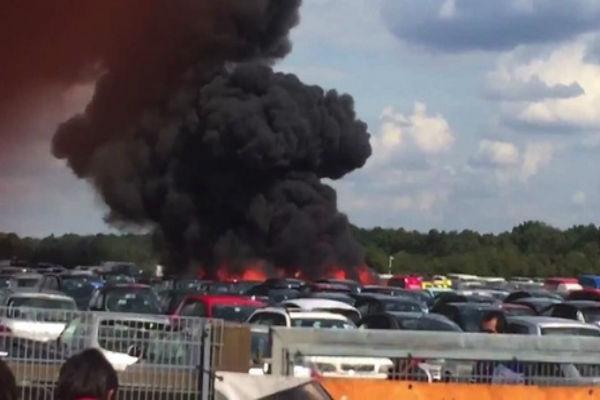 В авиакатастрофе на юге Англии погибли мачеха и сестра Усамы бен Ладена